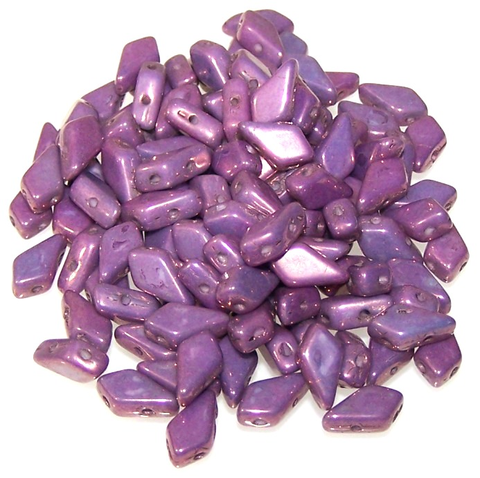 Chalk Purple Vega Kite Beads